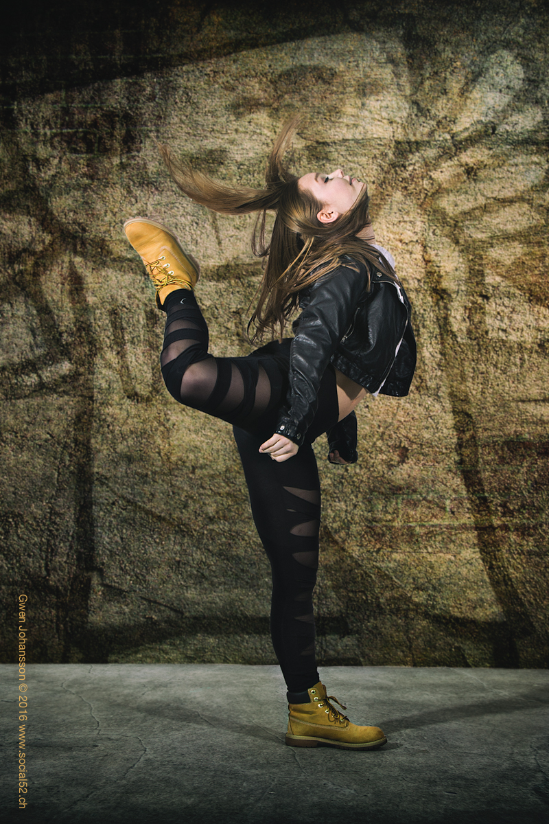 Social52.ch Fitness and Portrait Photography - Lifestyle Image of Dancer
