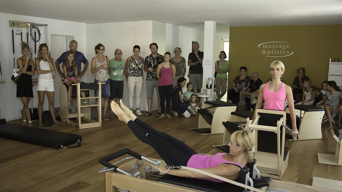 Grand Opening of Massge & PIlates in Ennentbuergen