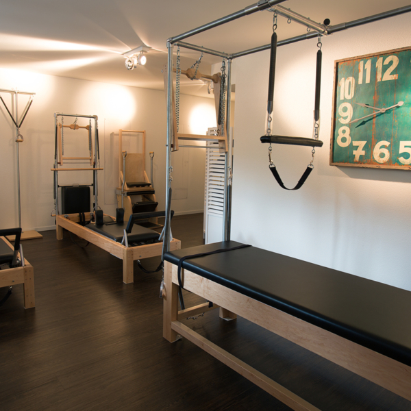 Social52.ch Location Photography - Pilateswerkstatt Zug Private Training Room
