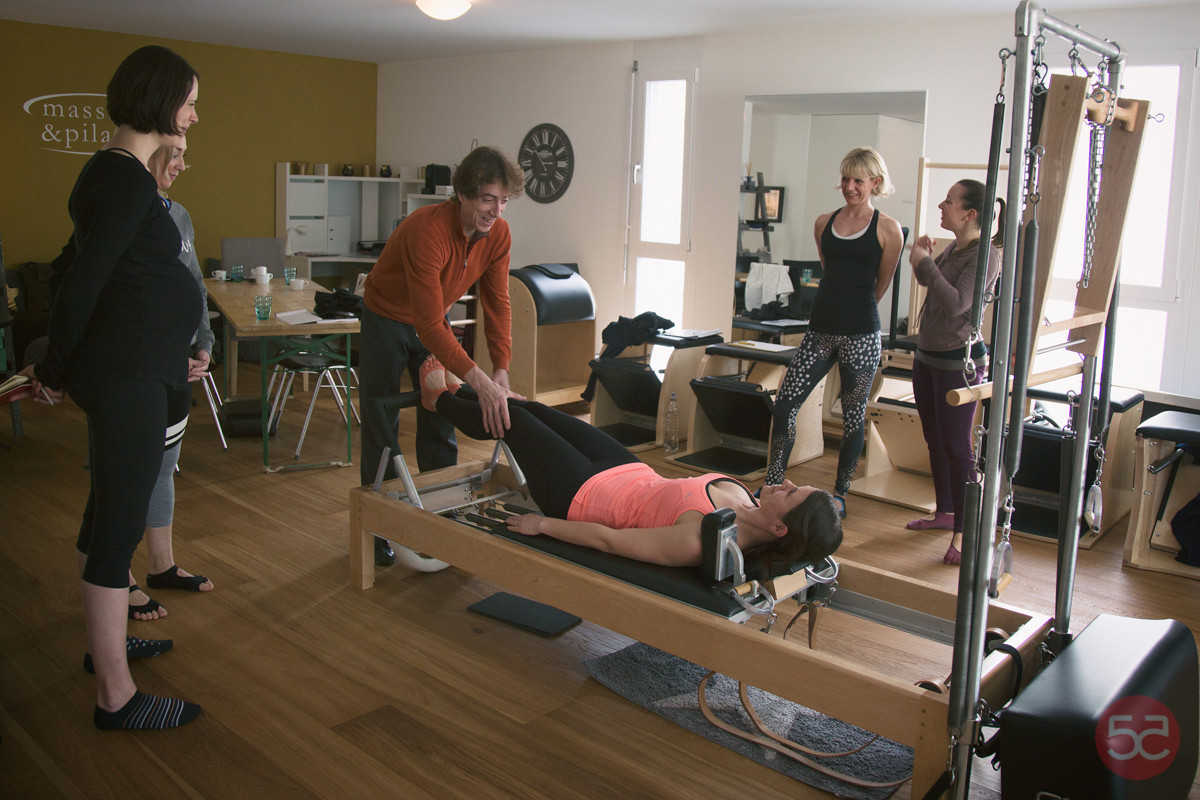 2016 Visit of Philippe Taupin to Massage & PIlates