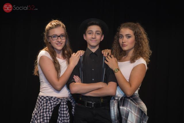 Musical Kriens Switzerland 2016: Theresa Linder, Pascal Schmid, Jana Weibel