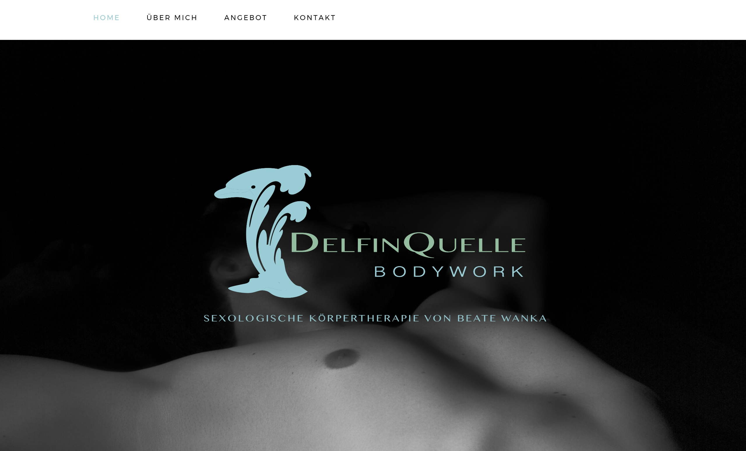 Delfinquelle Bodywork Website from Social52.ch