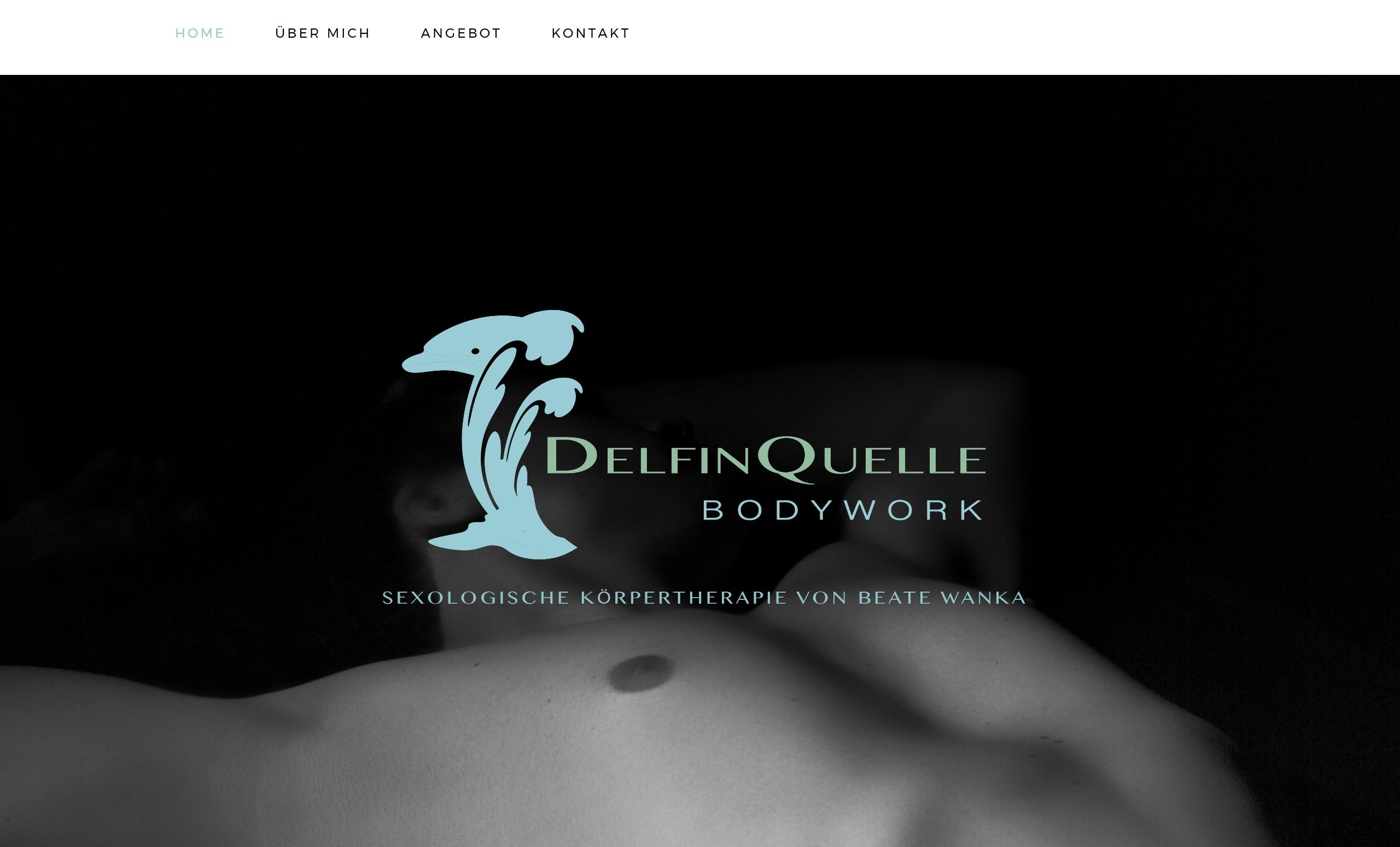 Delfinquelle Bodywork Website from Social52.ch